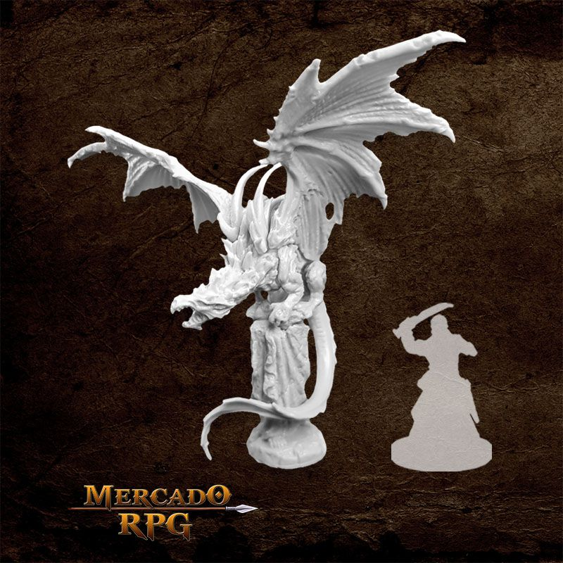 Temple Dragon - Miniatura RPG  - Mercado RPG