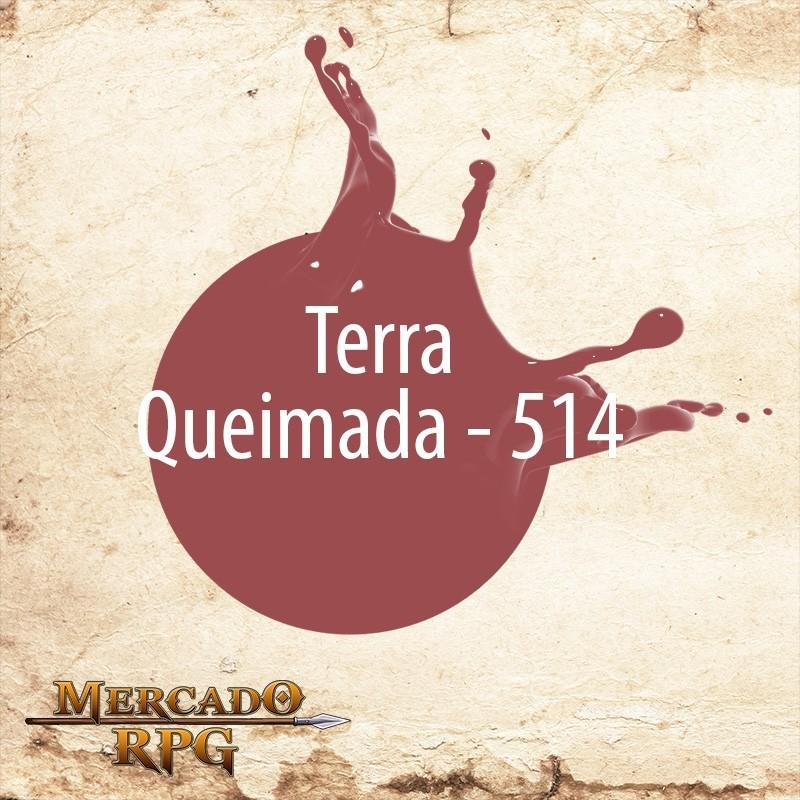 Terra Queimada 514 - Tinta Acrílica Fosca Nature Colors 60ml - Acrilex - RPG