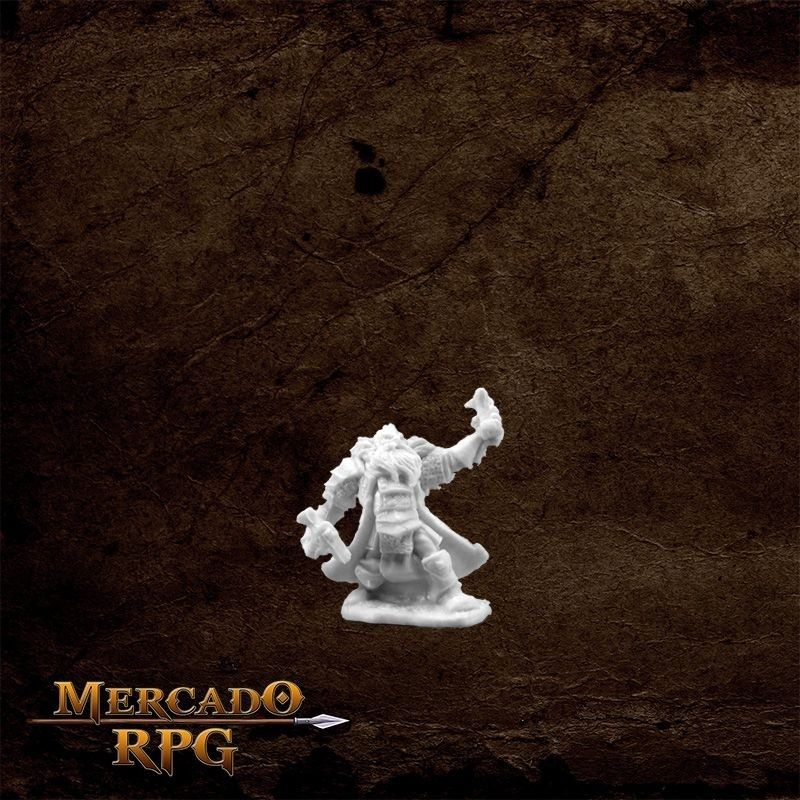Thain Grimthorn, Dwarf Cleric  - Mercado RPG