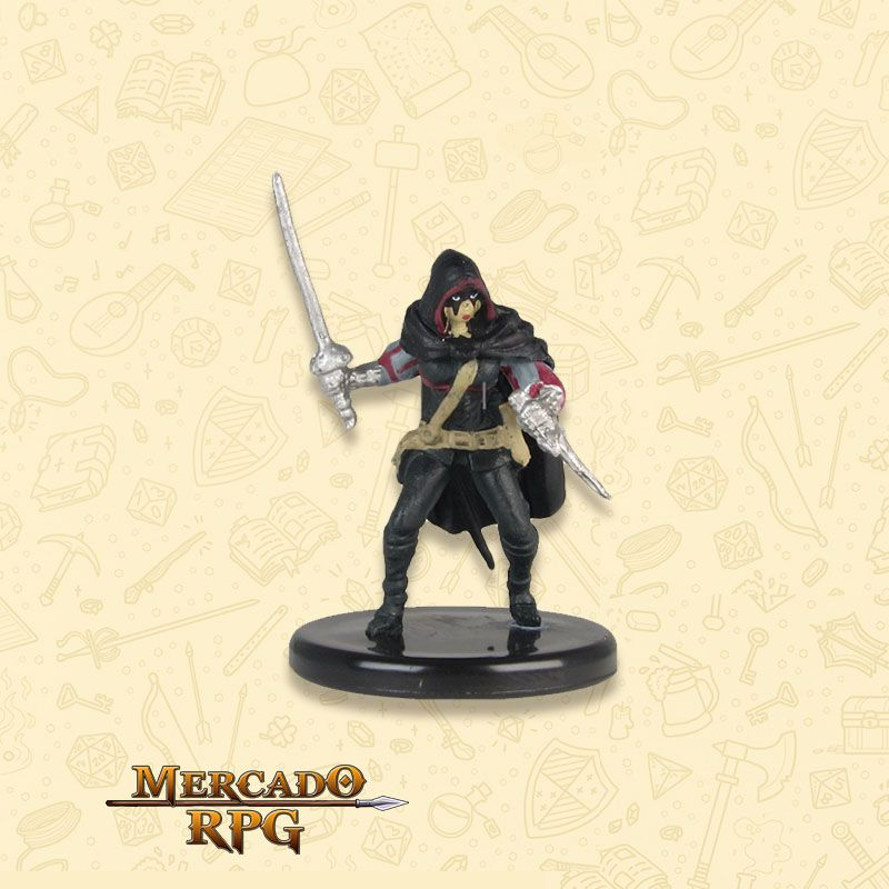 The Black Viper - Miniatura RPG  - Mercado RPG