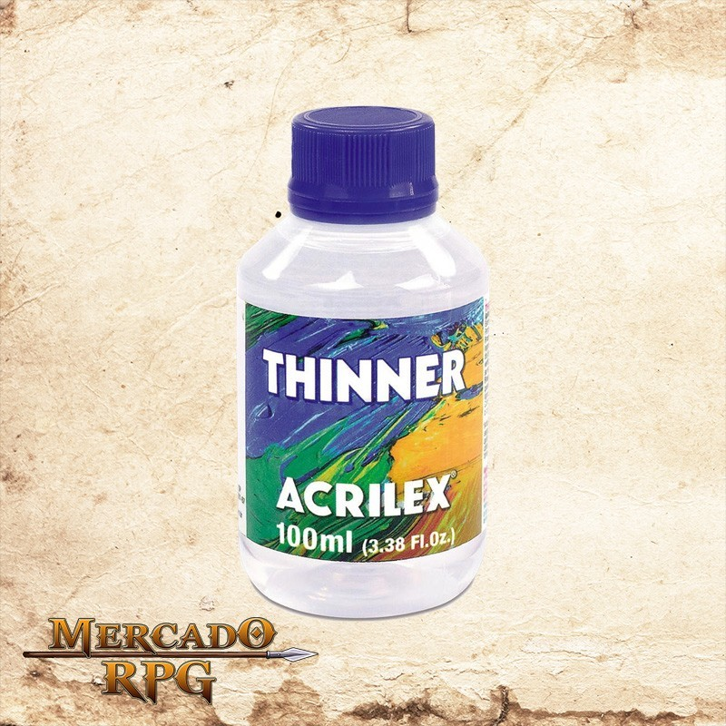 Thinner 100ml - Acrilex - RPG