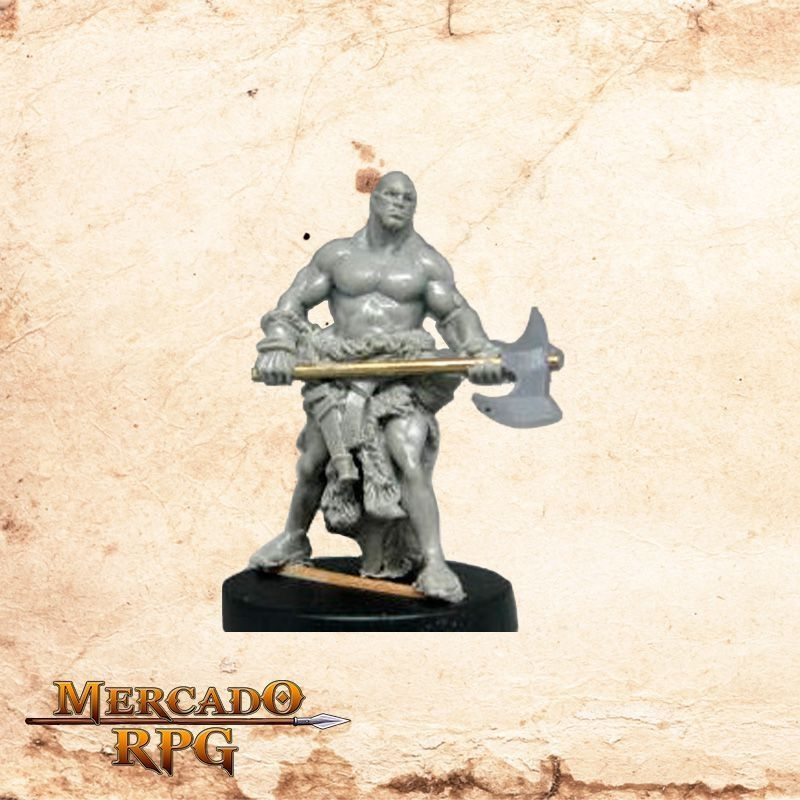 Thorbjorn the Unbroken - Miniatura RPG  - Mercado RPG