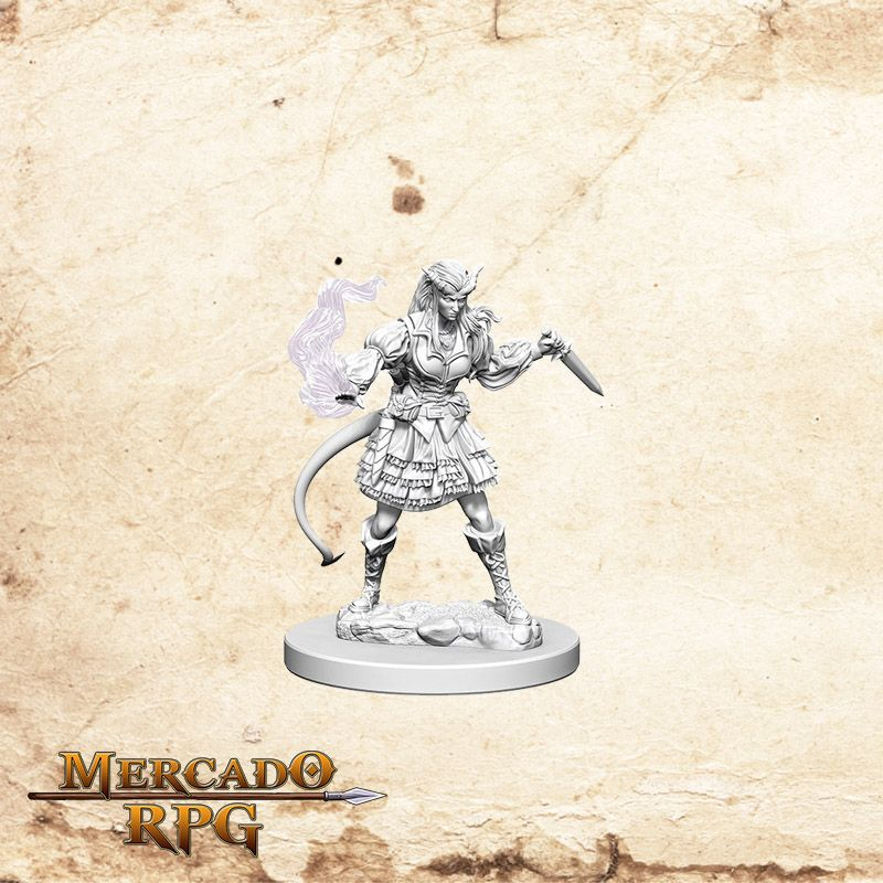 Tiefling Female Sorcerer A  - Mercado RPG