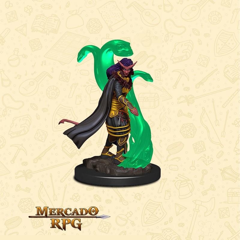 Tiefling Female sorcerer - Miniatura D&D - RPG