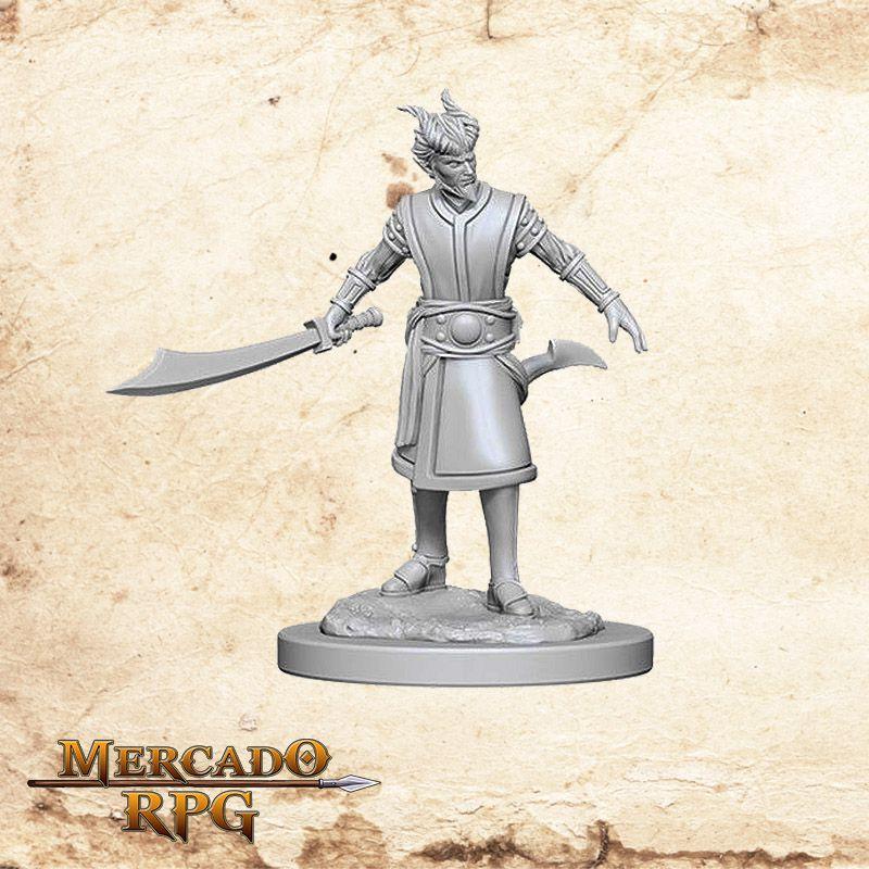 Tiefling Male Warlock B