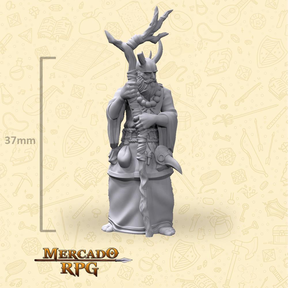 Tiefling Sorcerer - Miniatura - RPG
