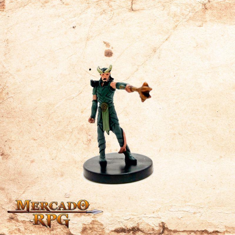 Tiefling Warlock - Possui carta  - Mercado RPG