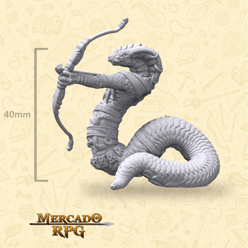 Tikhal Bow - Miniatura - RPG