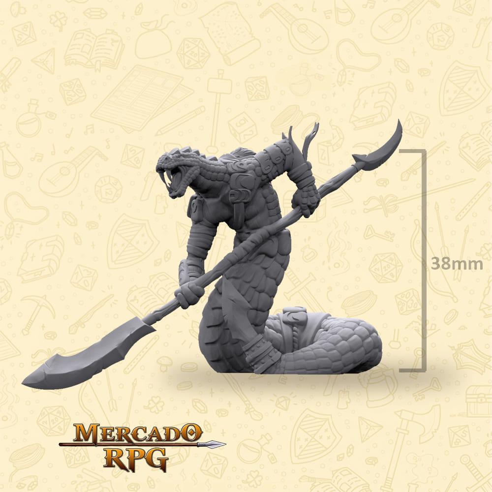 Tikhal Polearm - Miniatura - RPG