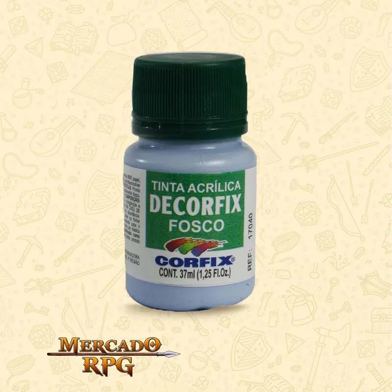 Tinta Acrílica Fosca Decorfix - Azul Inverno - Corfix - RPG