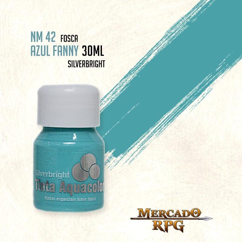 Tinta Aquacolor - Azul Fanny - RPG