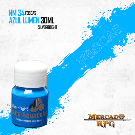Tinta Aquacolor - Azul Lumen - RPG