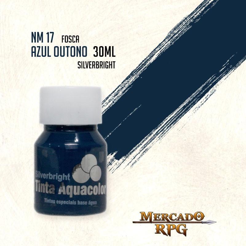 Tinta Aquacolor - Azul Outono - RPG  - Mercado RPG