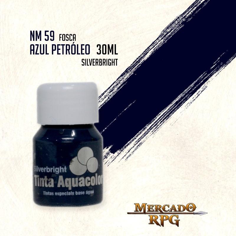 Tinta Aquacolor - Azul Petróleo - RPG  - Mercado RPG