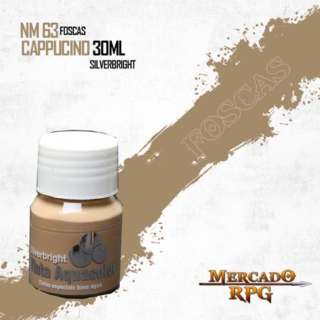 Tinta Fosca Aquacolor - Cappucino 30ml Silverbright - RPG