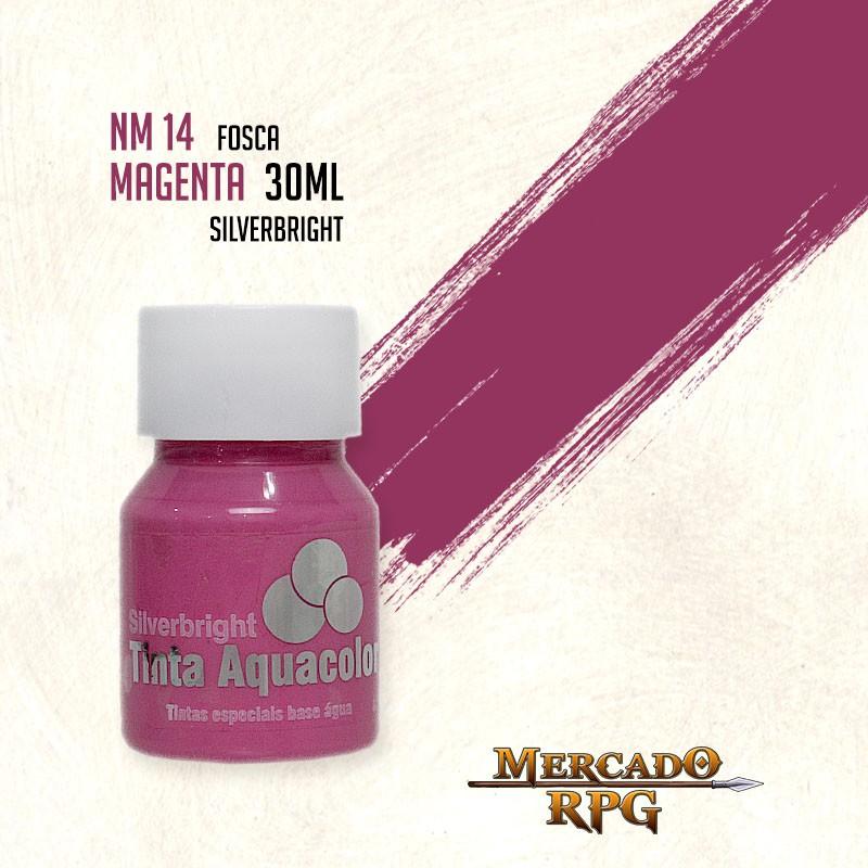 Tinta Aquacolor - Magenta - RPG  - Mercado RPG