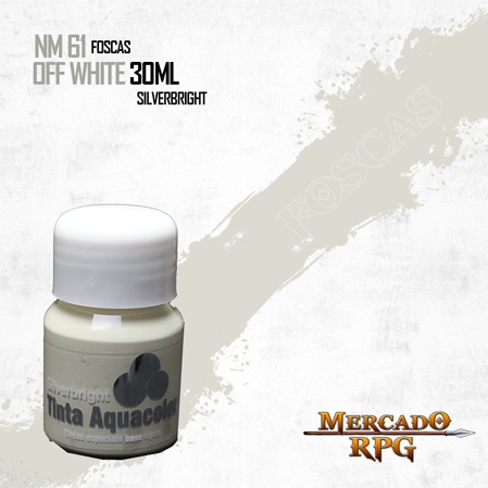 Tinta Aquacolor - OFF White - RPG