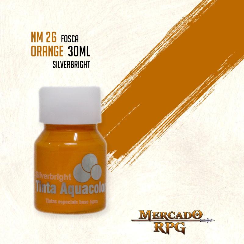 Tinta Aquacolor - Orange - RPG  - Mercado RPG