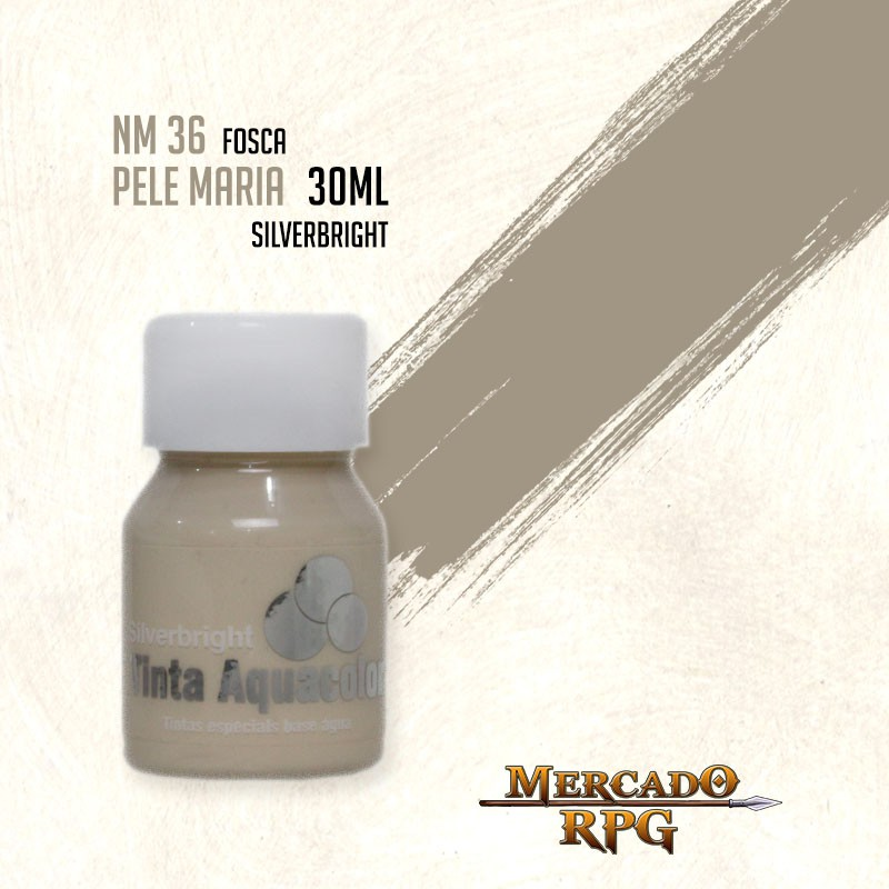 Tinta Aquacolor - Pele Maria - RPG