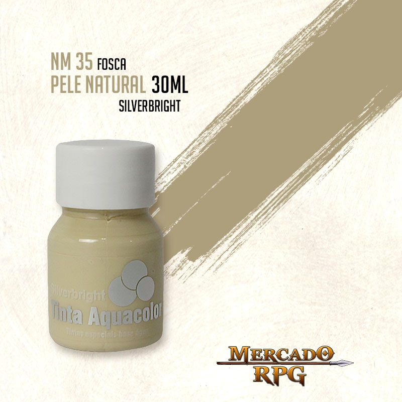 Tinta Aquacolor - Pele Natural - RPG