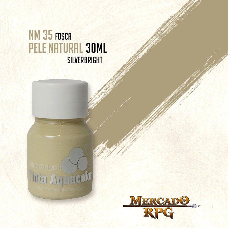 Tinta Fosca Aquacolor - Pele Natural 30ml Silverbright - RPG