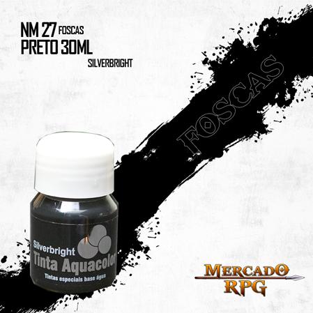 Tinta Aquacolor - Preto