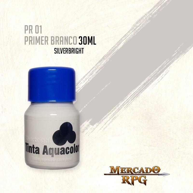 Tinta Aquacolor - Primer Branco - RPG  - Mercado RPG