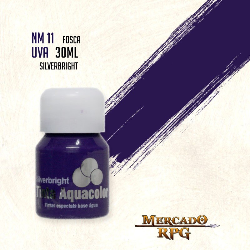 Tinta Aquacolor - Uva - RPG  - Mercado RPG
