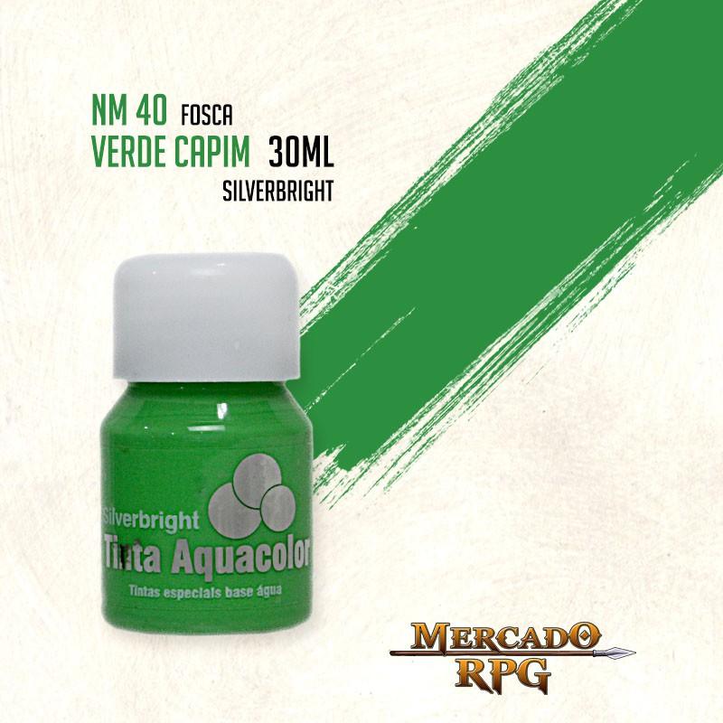 Tinta Aquacolor - Verde Capim - RPG  - Mercado RPG
