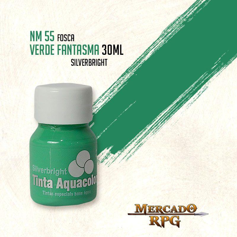 Tinta Aquacolor - Verde Fantasma - RPG  - Mercado RPG
