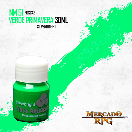 Tinta Aquacolor - Verde Primavera - RPG  - Mercado RPG