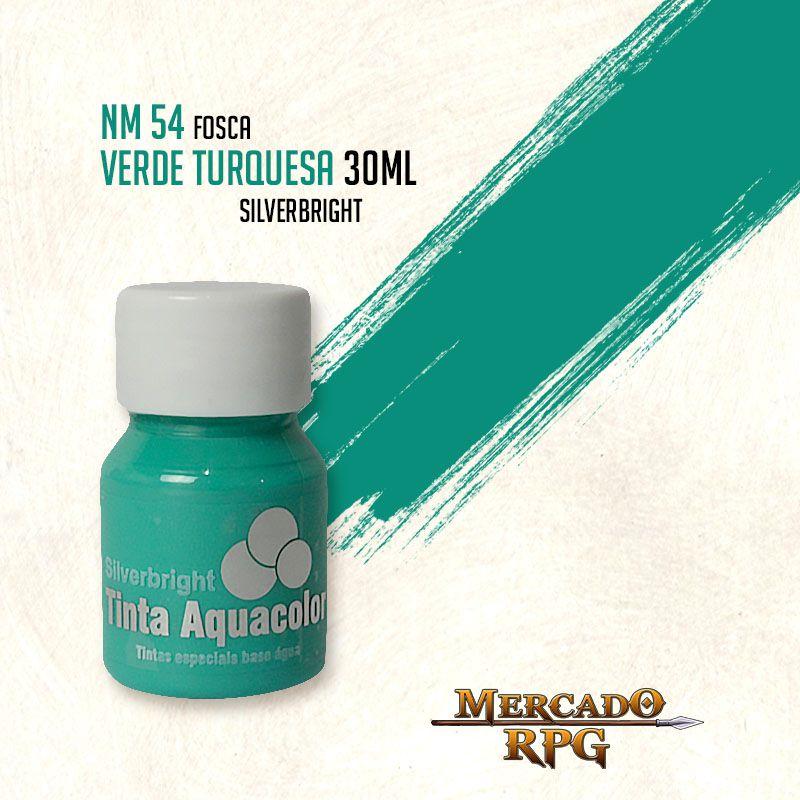 Tinta Aquacolor - Verde Turquesa - RPG