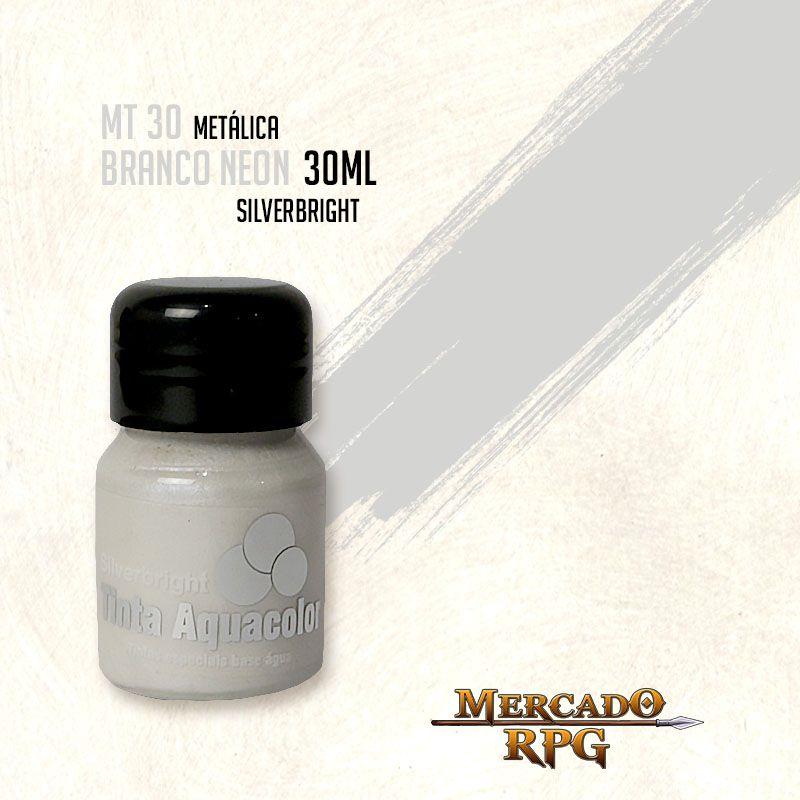 Tinta Metálica - Branco Neon - RPG