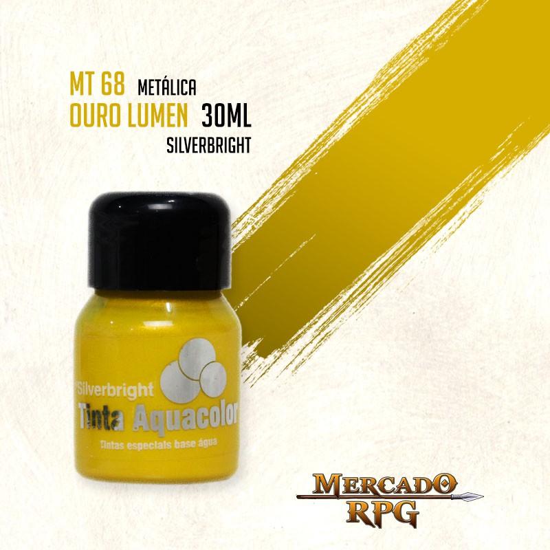 Tinta Metálica - Ouro Lumen - RPG