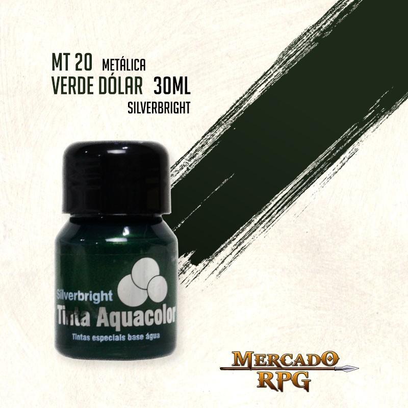 Tinta Metálica - Verde Dólar - RPG