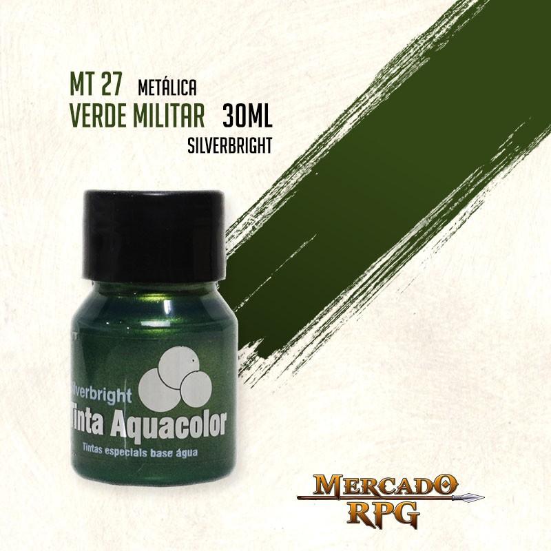Tinta Metálica - Verde Militar - RPG  - Mercado RPG