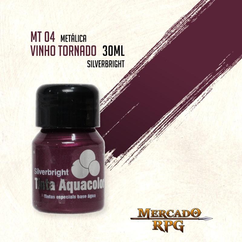 Tinta Metálica - Vinho Tornado - RPG  - Mercado RPG