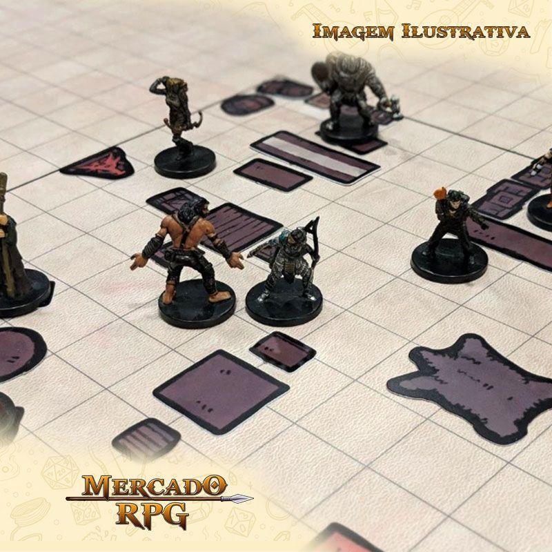 Tokens de cenários - Castle Furniture - RPG  - Mercado RPG