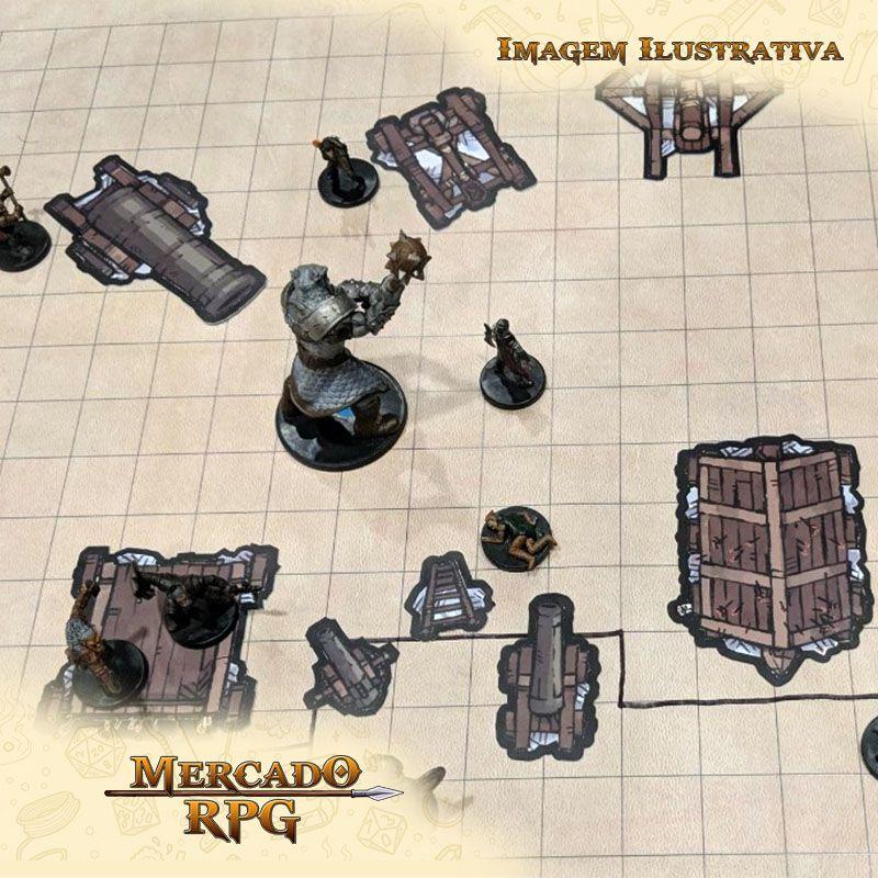 Tokens de cenários - Castle Siege - RPG  - Mercado RPG