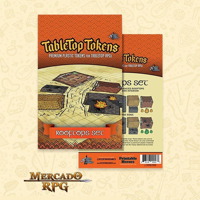 Tokens de cenários - Rooftops Set - RPG