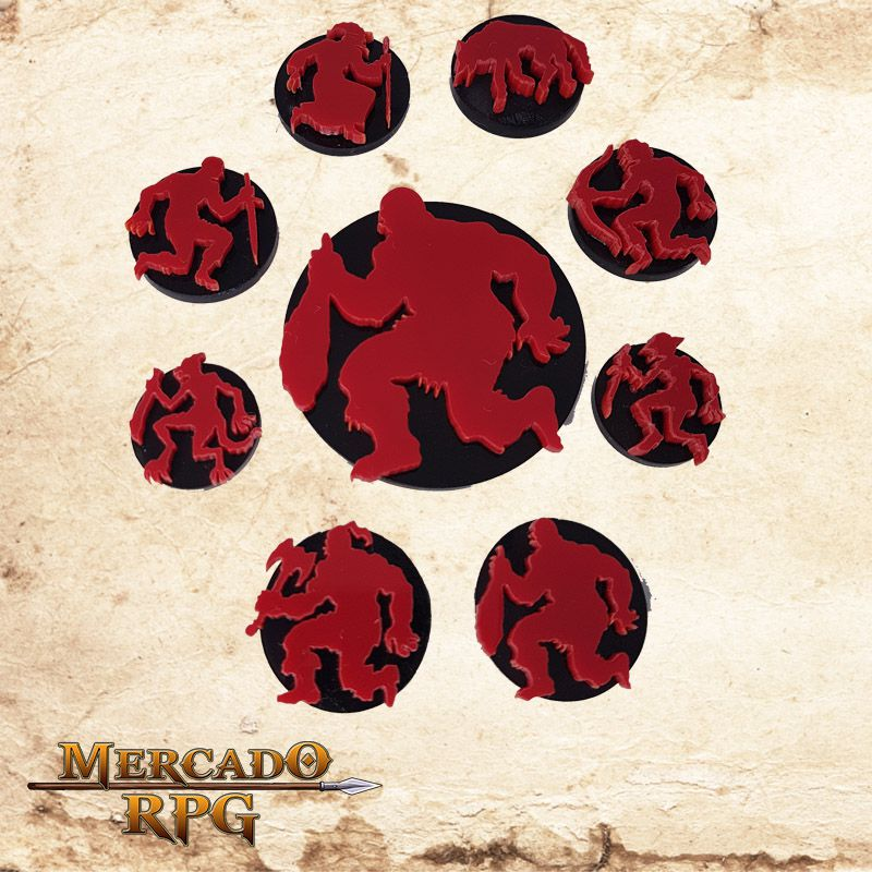 Tokens de Personagens caídos   - Mercado RPG
