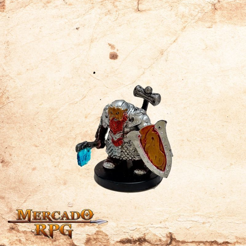 Tordek, Dwarf Champion - Com carta  - Mercado RPG