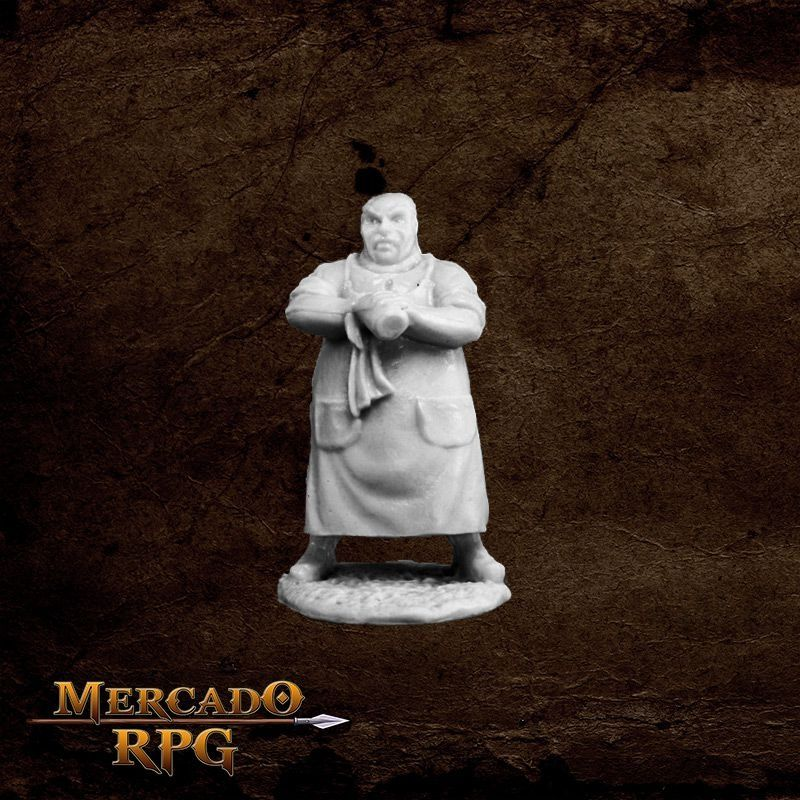 Townsfolk: Innkeeper   - Mercado RPG