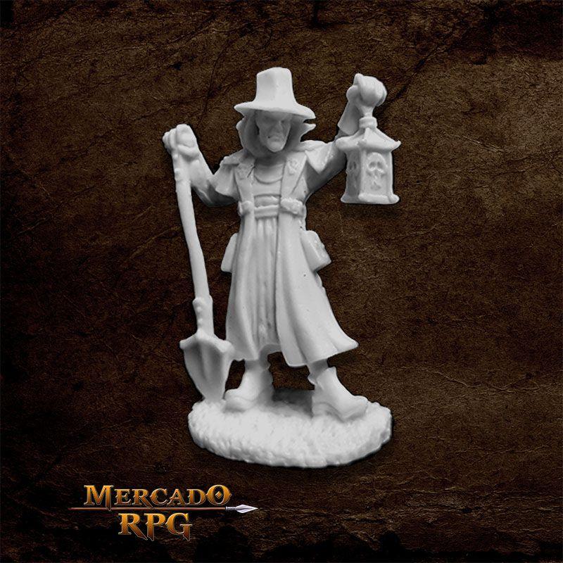Townsfolk: Undertaker - Miniatura RPG  - Mercado RPG