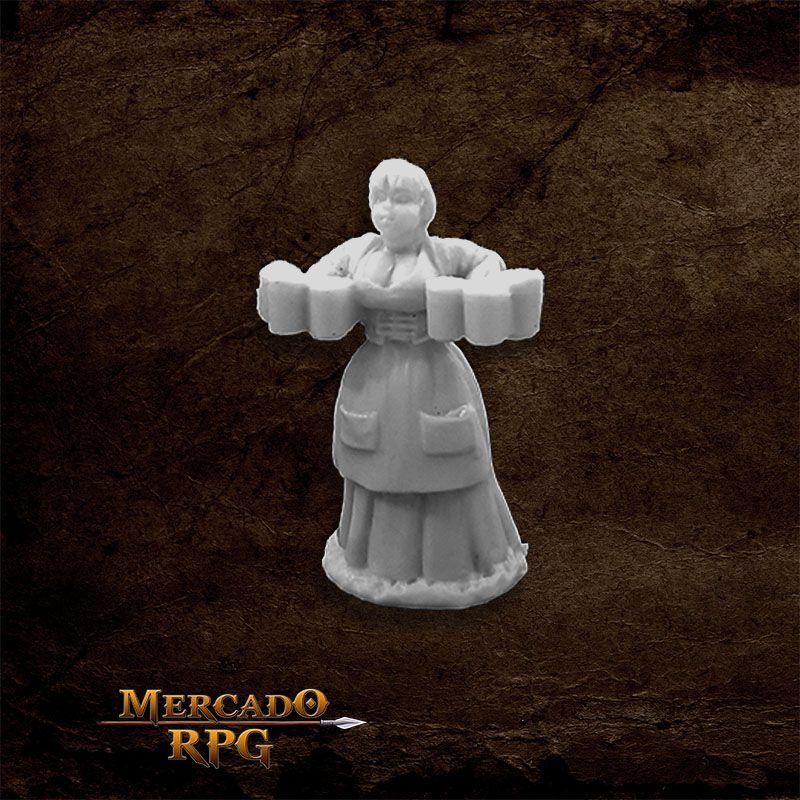 Townsfolk: Wench - Miniatura RPG