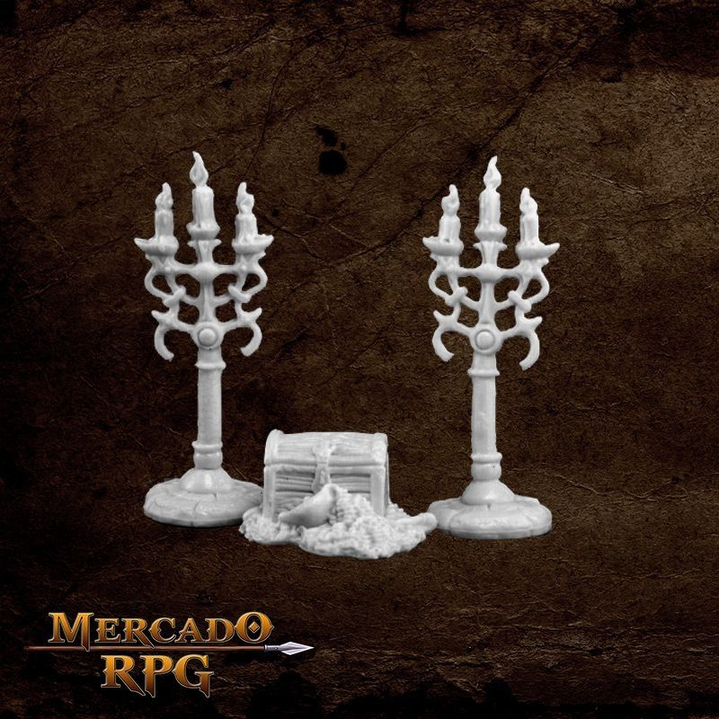 Treasure & Candleabra  - Mercado RPG