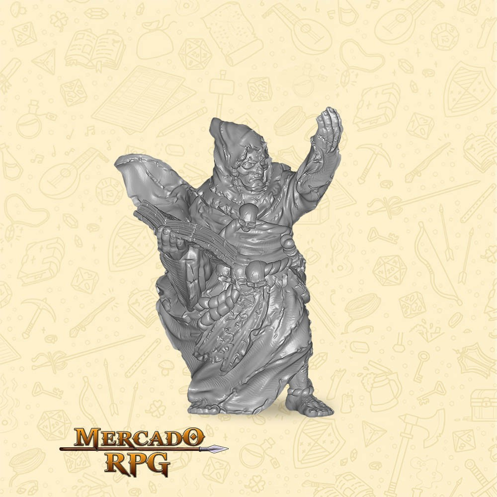 Tribal Oracle Male - Miniatura - RPG