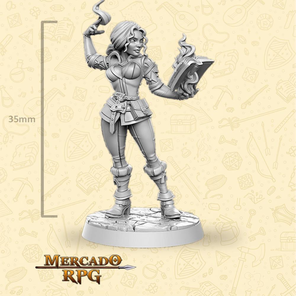 Triss Merigold - The Witcher - Miniatura - RPG