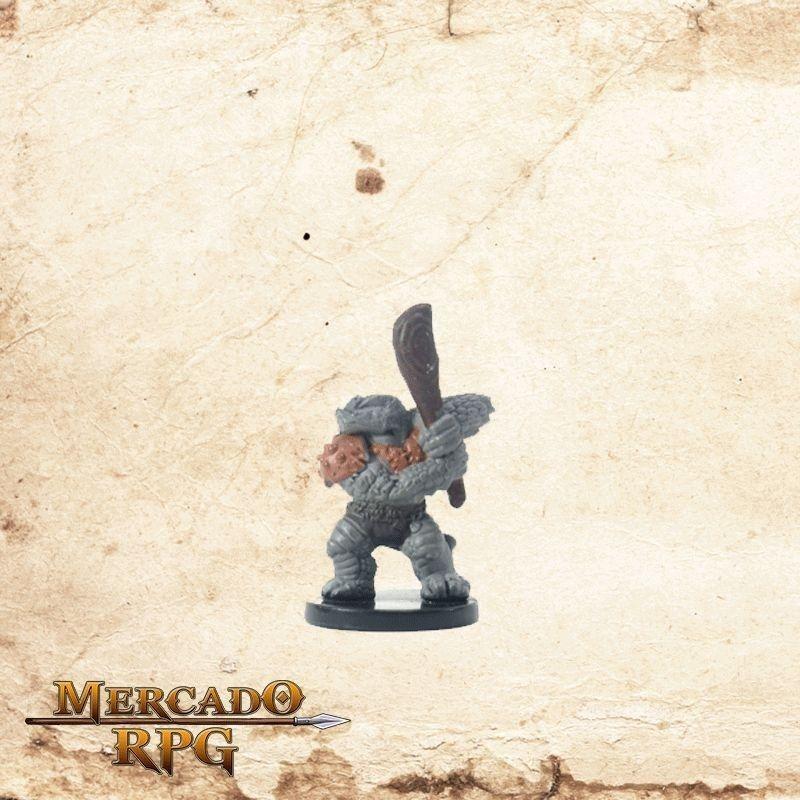 Troglodyte Bonecrusher - Com carta  - Mercado RPG
