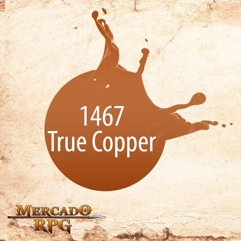 True Copper 1467  - Mercado RPG